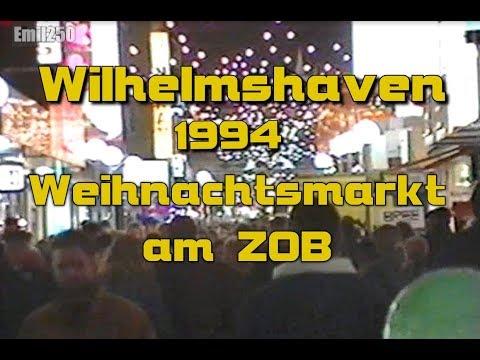 Wilhelmshaven 1994: Weihnachtsmarkt am alten ZOB