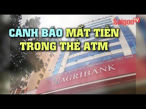 Cánh báo mất tiền trong thẻ ATM