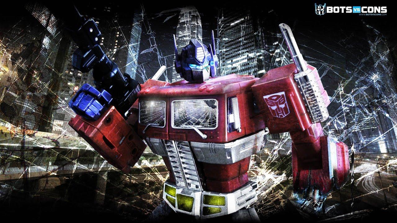 Battle Damage Optimus Prime Transformers Wallpaper