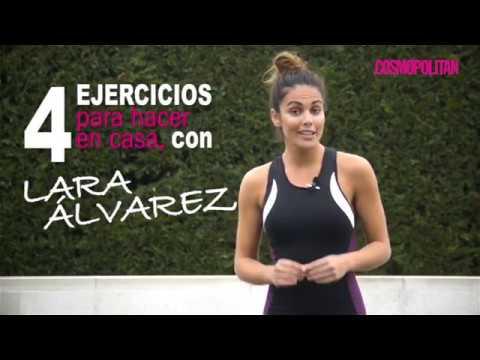 4 ejercicios infalibles para hacer en casa, con Lara Álvarez thumbnail