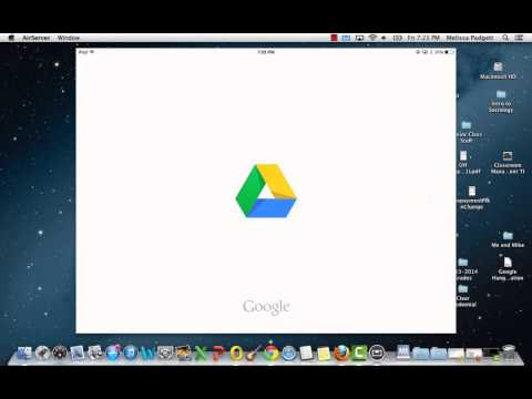 Sharing iBook to Google Drive