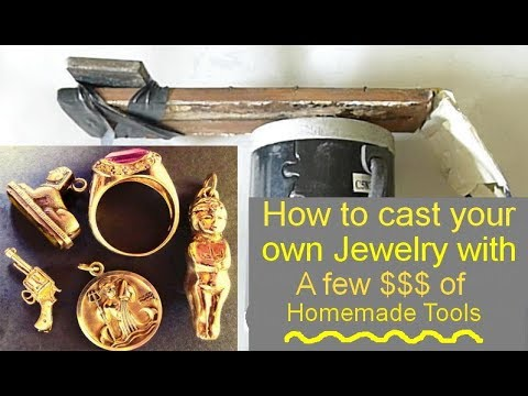 DIY Centrifugal casting machine jewelry Homemade So simple