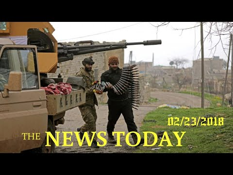 Turkish Forces Shell Convoy Headed To Syria's Afrin Region | News Today | 02/23/2018 | Donald Trump