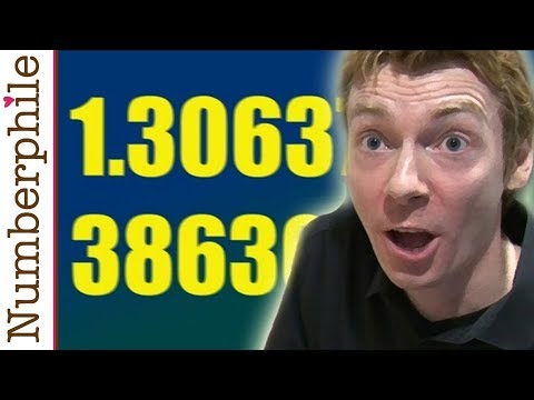 Awesome Prime Number Constant - Numberphile
