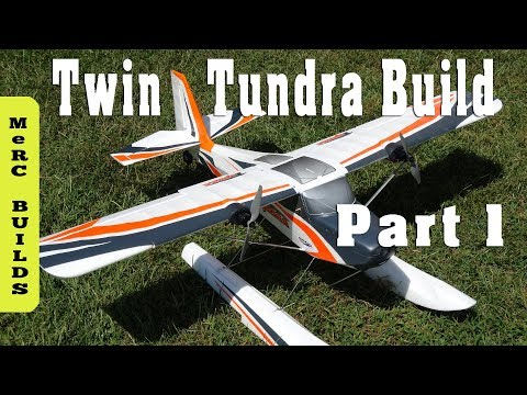 diy twin engine tundra rc plane build part 1 (power system parts Twin-Engine RC Electric Airplane