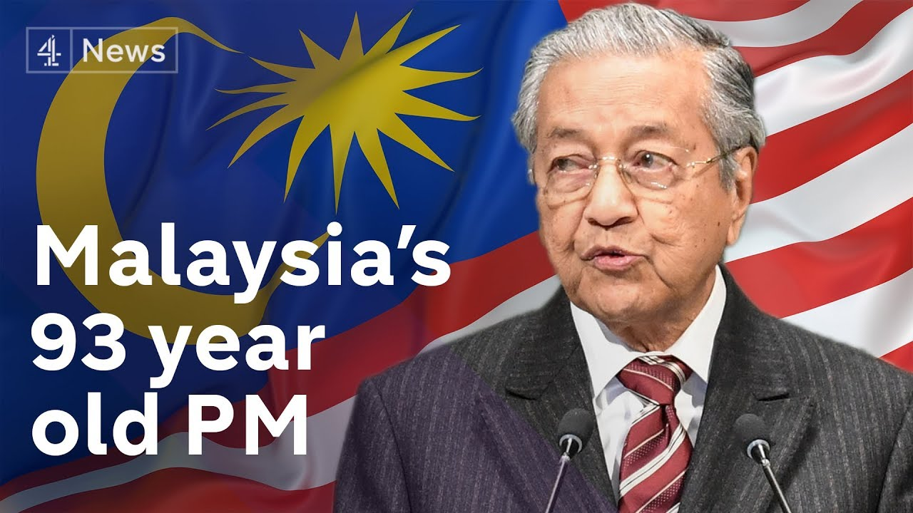 Image result for Dr Mahathir on Channel 4 TV