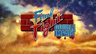 Final Fight Double Impact 60fps gameplay on Xbox360