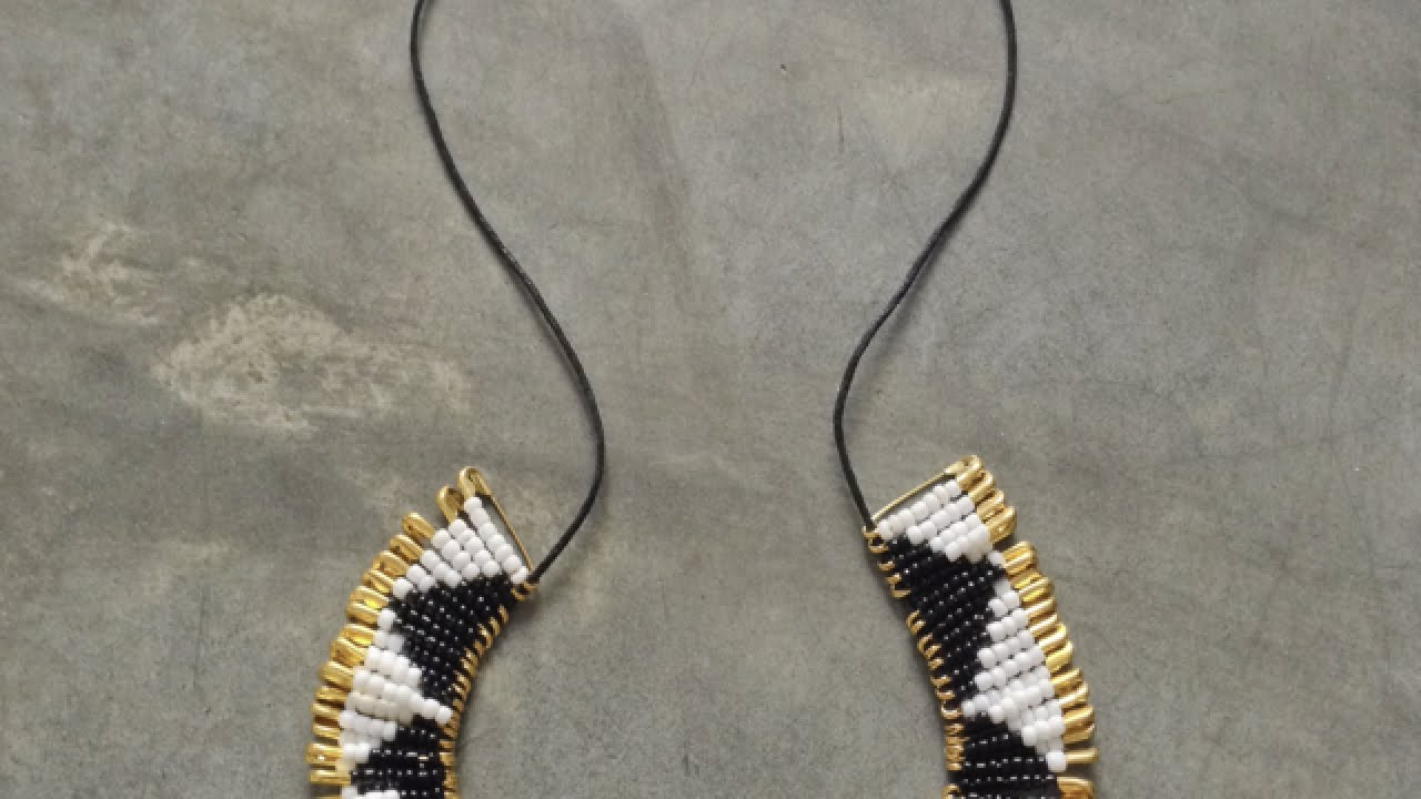 Make a Trendy Beaded Safety Pin Necklace - Style - Guidecentral ...