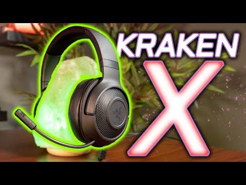 NEW Razer Kraken X Headset Review and Mic Test!