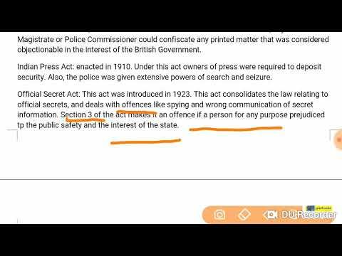 UGC NET|| Media Law- Theory (Part-1)||