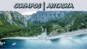 Olimpos(Olympos) Antalya   Antik kent   Vlog   Gezi rehberi