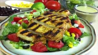 Southwest Chicken Salad With Homemade Cilantro Lime Dressing ~cinco De Mayo