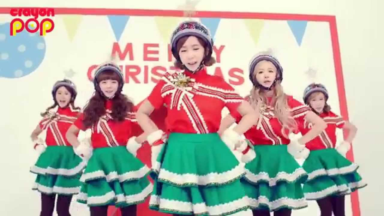 [Crayon Pop] Lonely Christmas - MV - YouTube