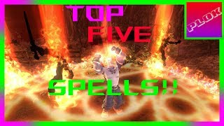 Top 5 BEST Spells in Fable TLC/Anniversary!!