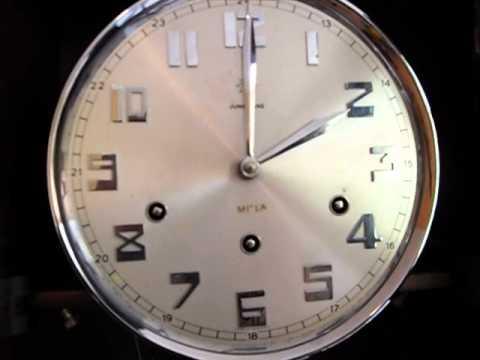 Reloj de pared junghans soner a de 3 cuerdas vintage youtube - Relojes de pared clasicos ...