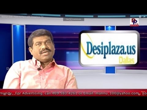 Part 1- Face to Face with Dr. Mohan Goli, Telangana Pravas Divas Awardee || Desiplaza || Dallas