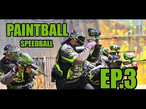 Speedball Paintball | NVP Paintball | Indoor Day | 2v2 | Azodin Blitz Evo