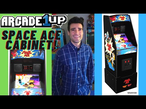 ARCADE1UP SPACE ACE CABINET CES 2021 from Brick Rod