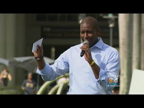 Gillum Campaigns In South Florida, DeSantis In Jacksonville
