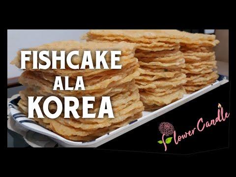 Cara Buat Odeng Lembaran / Eomuk Stik / Fishcake Ala Korea Praktis Mudah ( 한국식 생선 케이크)