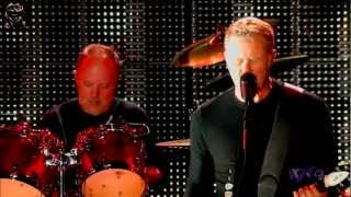 Metallica - American Idiot Jam & Creeping Death (LIVE Stream - VOODOO MUSIC + ART EXPERIENCE 2012)
