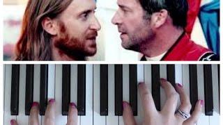 Dangerous by David Guetta ft Sam Martin | EASY Piano Tutorial