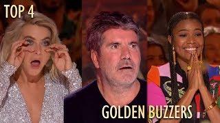 TOP 4 GOLDEN BUZZER on America's Got Talent 2019