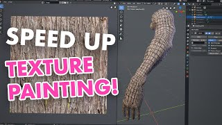 Speed Up Texture Painting - The Importance of a Good UV Layout