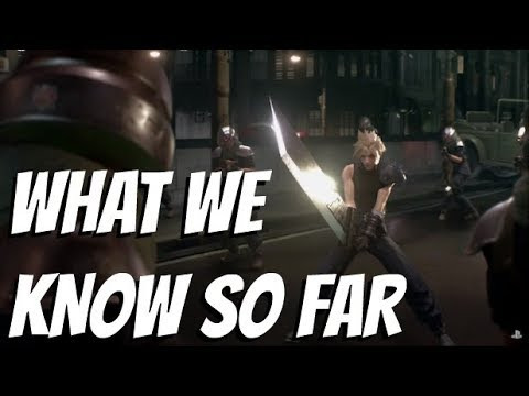 What We Know So Far | Final Fantasy 7 Remake (FF7)