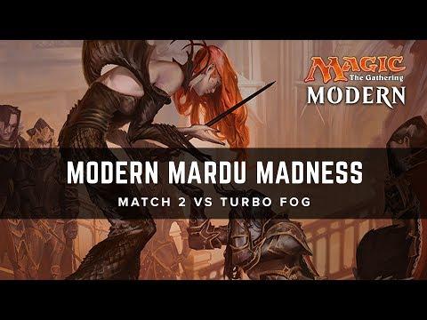 [MTG] Modern Mardu Madness | Match 2 VS Turbo Fog
