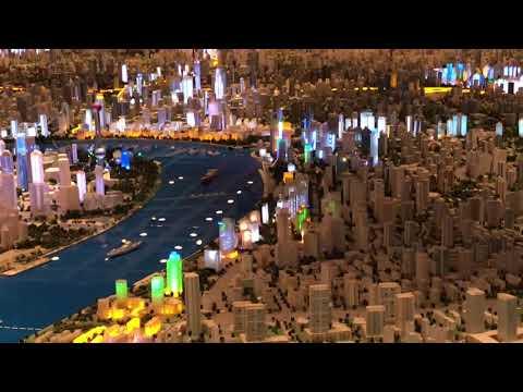 Shanghai Urban Planning Exhibition Center - Model of Entire City