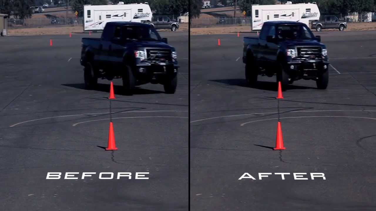 Hellwig Ford F150 2009 Before And After Off Road Sway