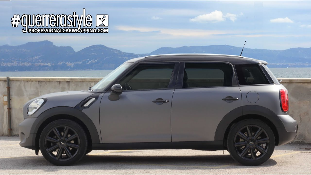Mini Countryman Cooper Car Wrapping By Guerrerastyle Com