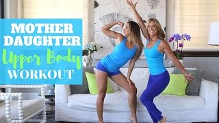 Mother Daughter Workout w/ Denise Austin | ARMS!
