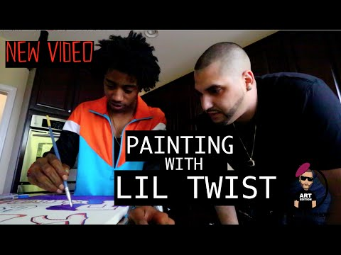 PAINTING WITH LIL TWIST | M2thaK Show.