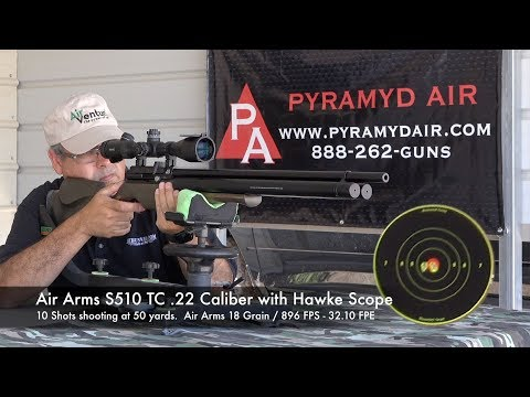 Air Arms MONSTER SHOT COUNT Hunting Airgun the Air Arms S510 TC - Review by AirgunWeb