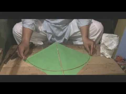 how to make kite manja at home