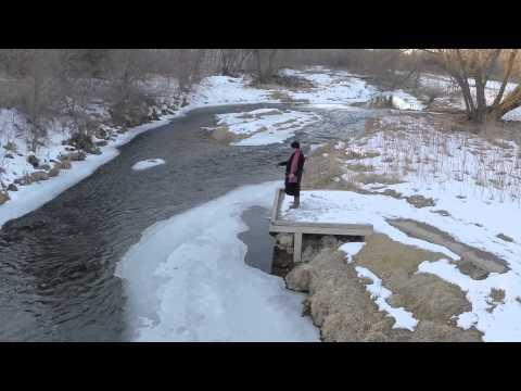 2nd test flight scott seekins fishing on the rush river for El paso fishing