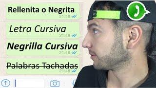 Top 4 Tipos de letras en WhatsApp