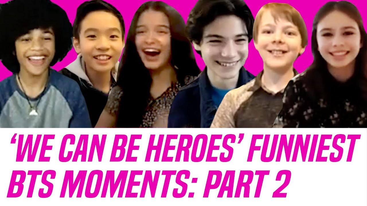 Download 'We Can Be Heroes' Netflix Cast Talks Funniest Behind-the-Scenes Moments — Missy, Wild Card & More