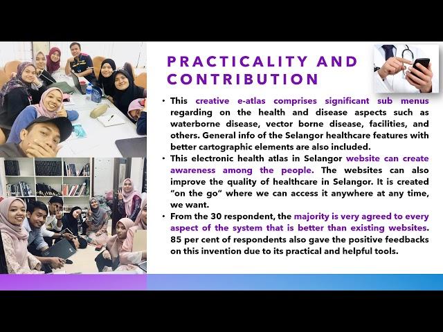 STB009 - E-Health Atlas:An Electronic Atlas of Healthcare & Disease Epidemiology Mapping in Selangor