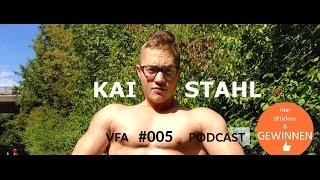 VFA007 Kai Stahl - Stahlharter Muskelmann und veganer Bodybuilder