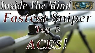 Inside the Mind of the Fastest Sniper Ever! (GLOBAL ELITE) Top 5 ACES 2016! CS:GO