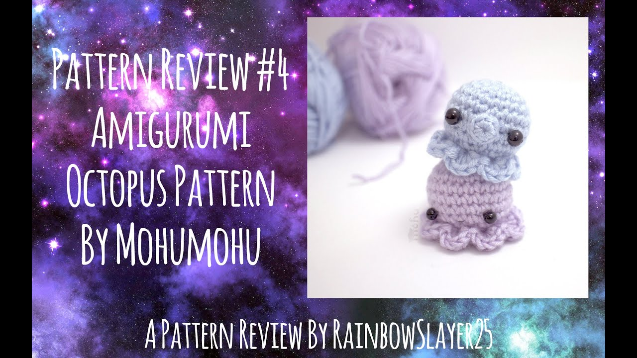 Crochet amigurumi pattern for squids, octopi and jellyfish, from ... | 720x1280