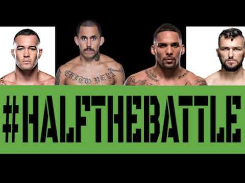 Colby Covington, Chito Vera, Eryk Anders, Damien Brown on Half The Battle