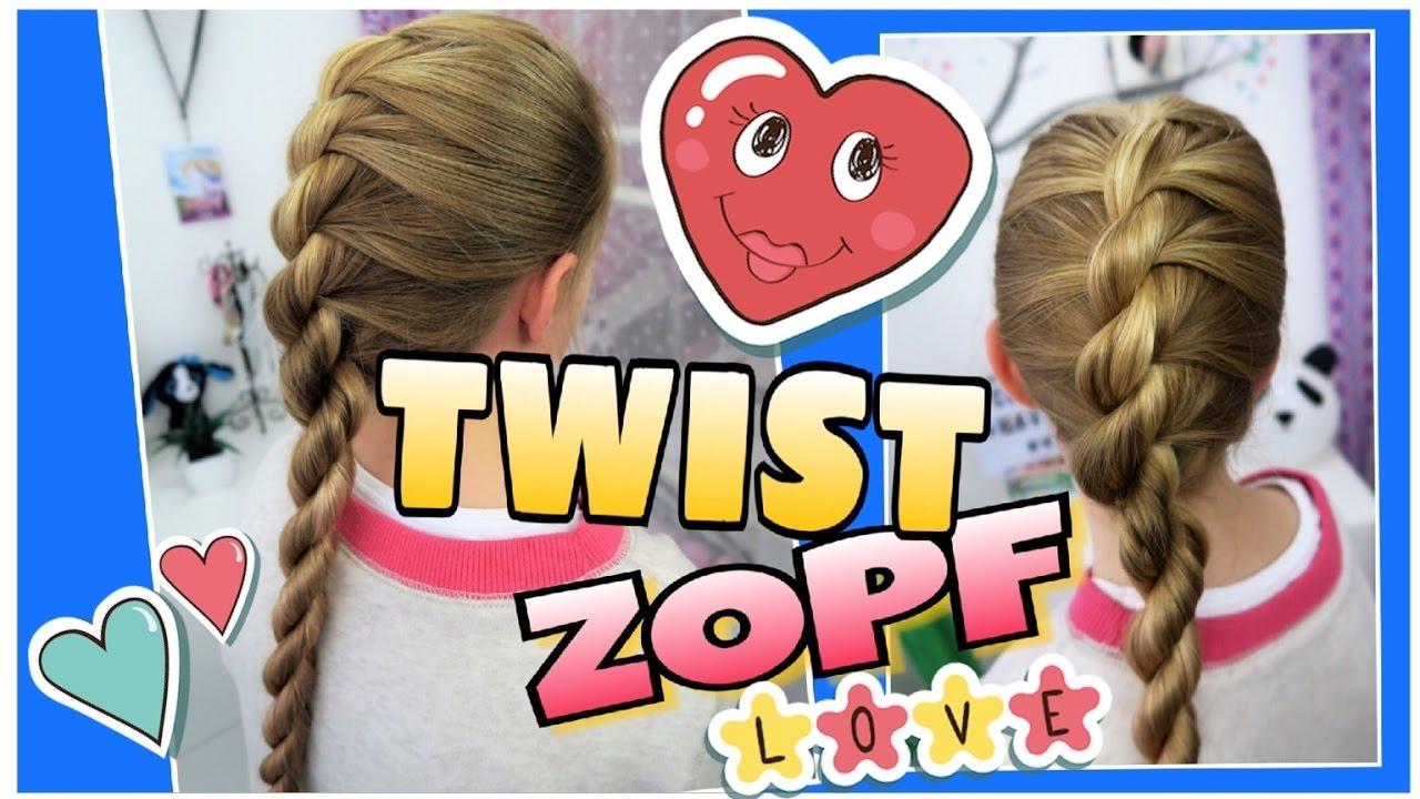 Twist Zopf Bauernzopf Getwistetcoole Mädchen Zöpfefrisuren Youtube