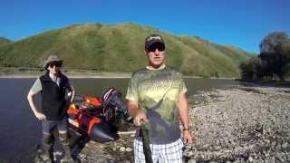 річка Ануй, Алтайський край / водометом по Алтаю