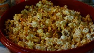 Spicy Hot Popcorn Recipe