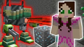 Minecraft: MINING ROBOTS CHALLENGE - Custom Mod Challenge [S8E10]