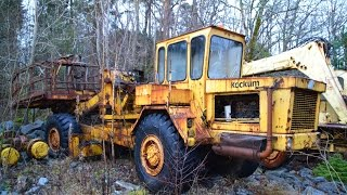 Abandoned  Graveyard    Cars Trucks and heavy Equipment